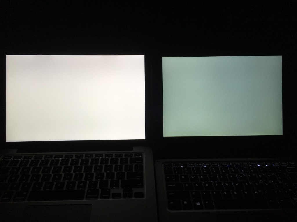 MacBook Pro 13和Elite x2 1012 G1白色对比