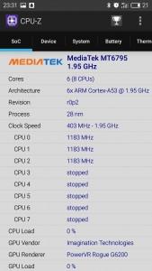 CPU-Z配置表