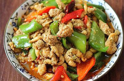青椒炒豆丹