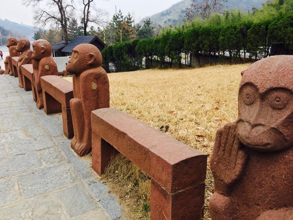 花果山景区护栏