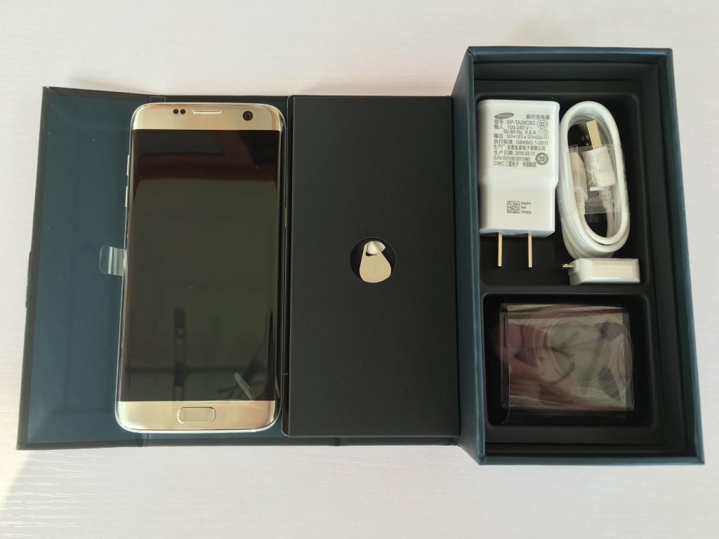 Galaxy S7 Edge包装内容