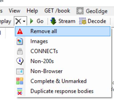 点remove all