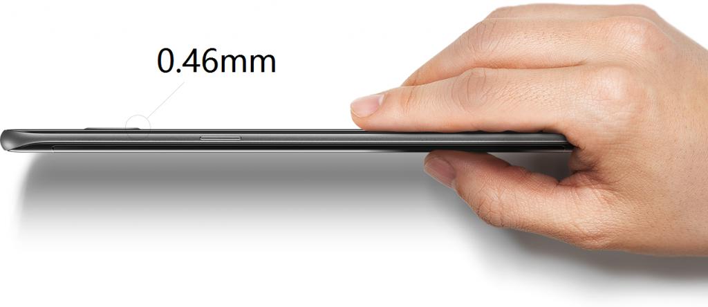 Galaxy S7 Edge侧面