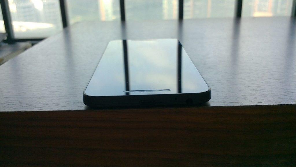 Nexus5x顶部