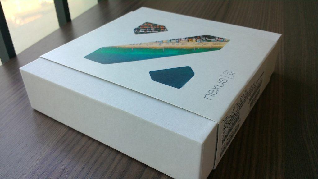nexus5x包装盒
