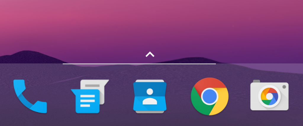 新Nexus启动器页面指示
