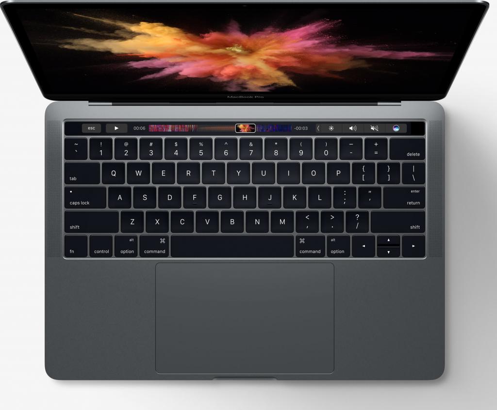 传统MacBook Pro键盘布局