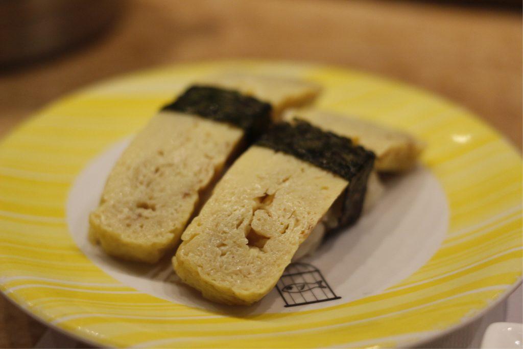 鸡蛋烧寿司