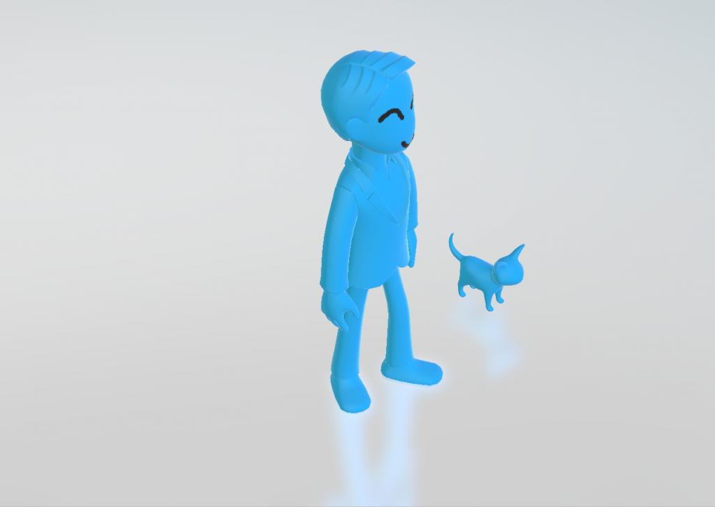 Paint3D-3D图形画笔演示预览角度1