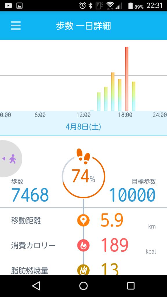 记录步数以及运动记录的My Tracker