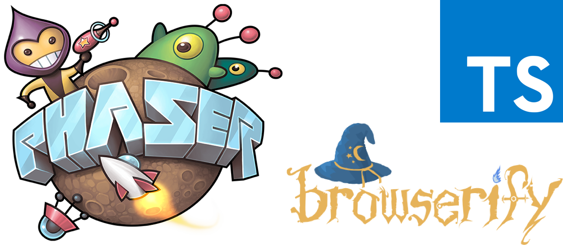 Phaser+TypeScript+Browserify