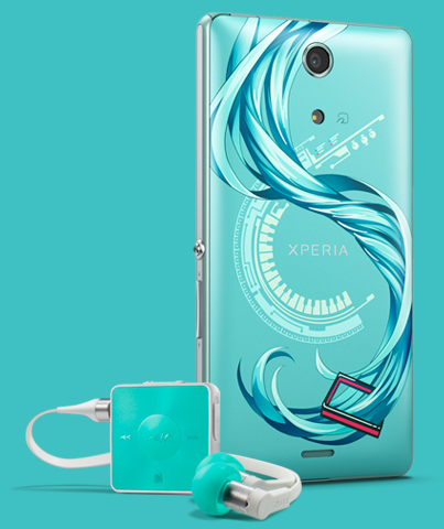 Sony Xperia A SO-04E初音版