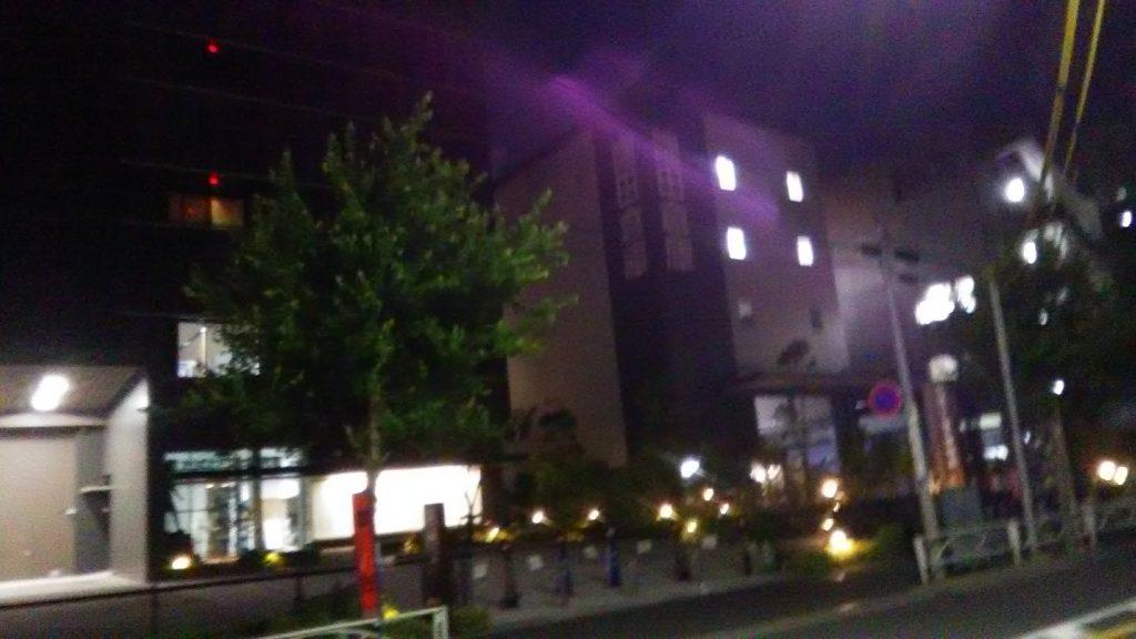酒店附近风景(这里的晚景我都拿的SH-01J拍的,夜间拍摄比较渣请见谅)