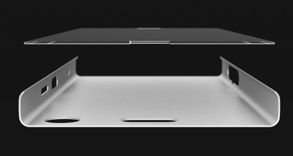 Xperia XZ1 Compact的U型背壳设计