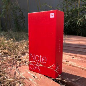 红米Note 5A包装