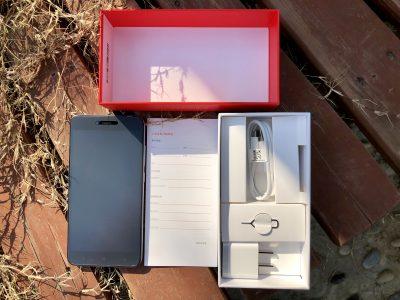 红米Note 5A包装内容