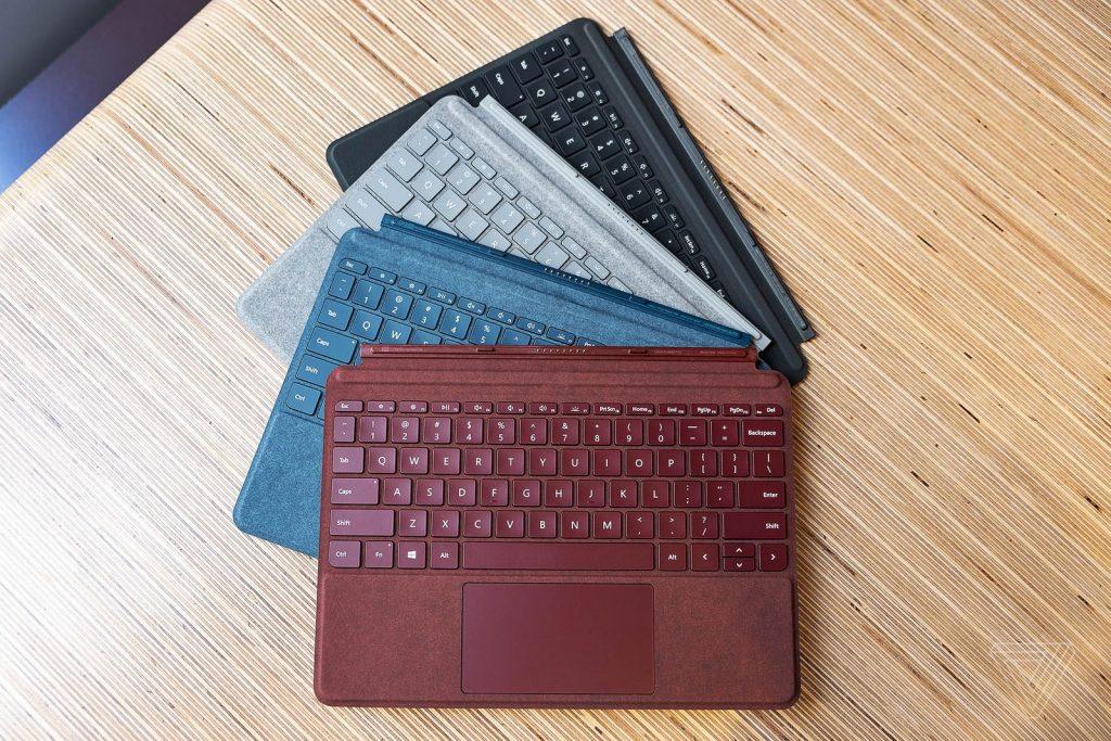 Surface Go的键盘盖配件