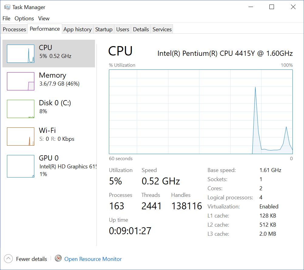 CPU频率监控