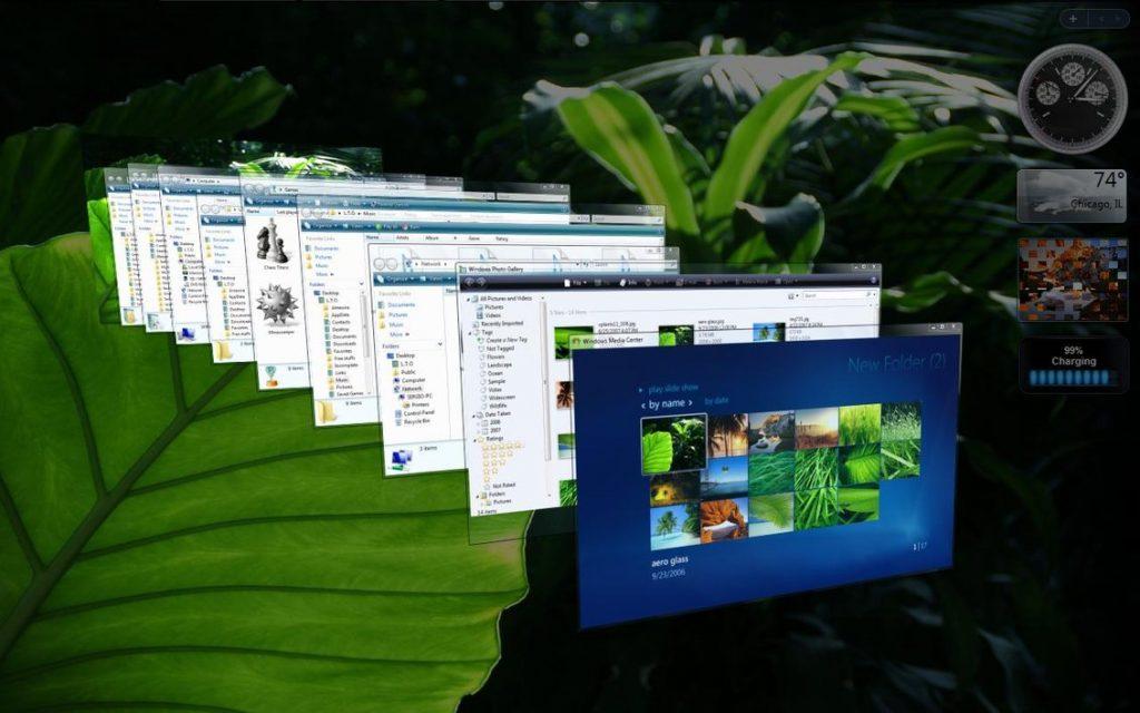 Windows Vista的Aero Flip功能