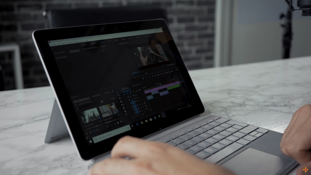 Surface Go使用Premiere Pro CC